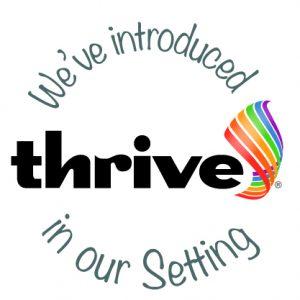 Thrive introduced-setting logo
